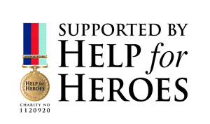 Supported by Help For Heroes
