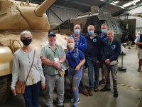 The Bridge for Heroes visits Muckleburgh Military Collection