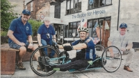 Veteran's Gruelling 100 Mile Ride